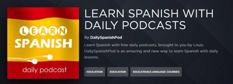 Acast Podcast zum Spanisch lernen