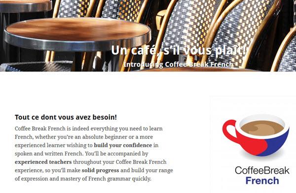 Coffee Break French Podcast zum Französisch lernen