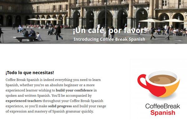 Coffee Break Spanish Podcast zum Spanisch lernen