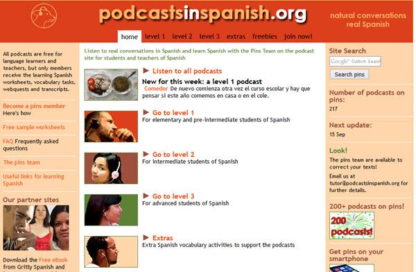 Podcasts en espagnol Podcast pour apprendre l'espagnol