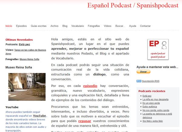 Podcast espagnol pour apprendre l'espagnol