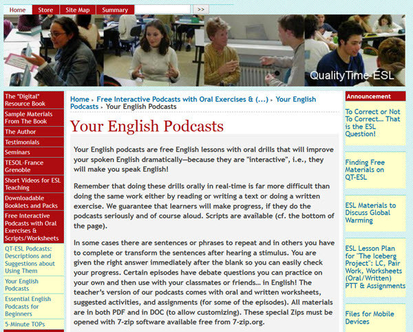 Votre podcast anglais pour apprendre l'anglais