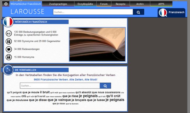 Sprachtool-Übersetzer-Wörterbuch-Larousse
