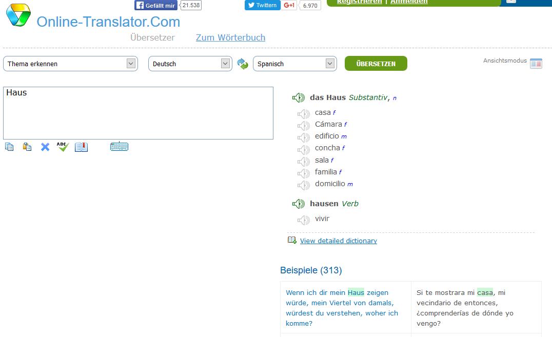 online translator leo