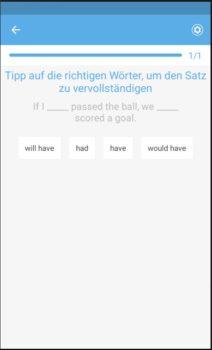 Busuu Vokabeltrainer App