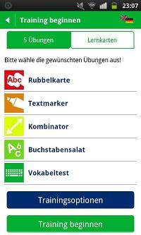 PONS Vokabeltrainer App