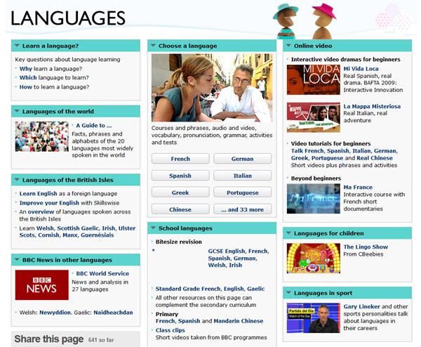 Die besten Sprachtools: BBC Languages