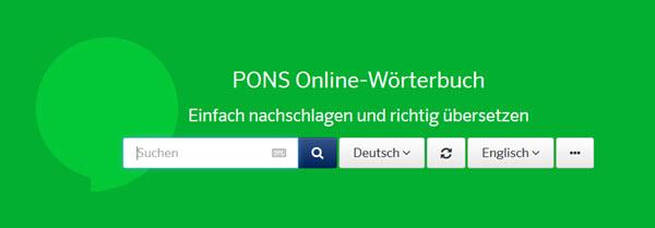 Die besten Sprachtools: Pons