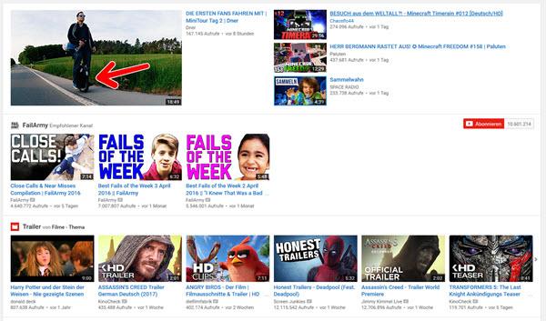 Die besten Sprachtools: YouTube