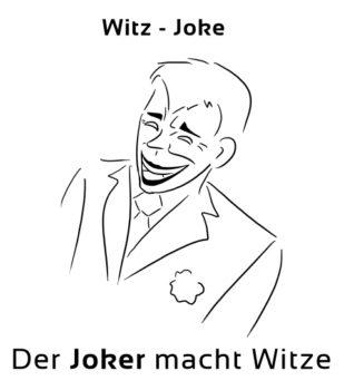 Witz-Joke Eselsbrücke Deutsch-Englisch