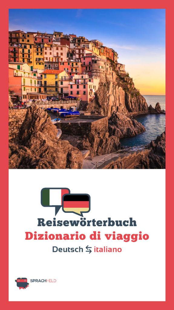 Reisewörterbuch Italienisch - Deutsch kostenlos