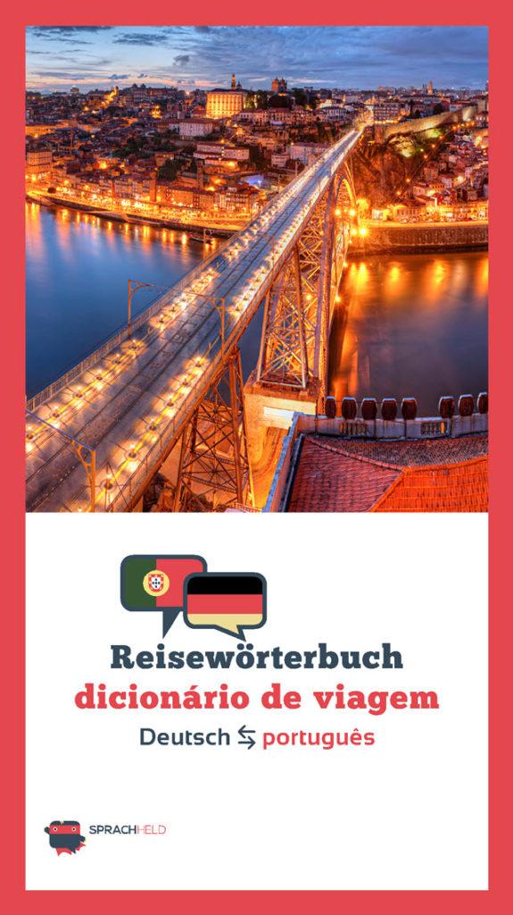 Reisewörterbuch Portugiesisch - Deutsch kostenlos
