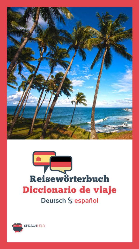 Reisewörterbuch Spanisch - Deutsch kostenlos