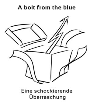 A-bolt-from-the-blue-englische-sprichwörter-redewendungen