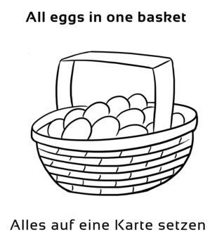 All-eggs-in-one-basket-englische-sprichwörter-redewendungen