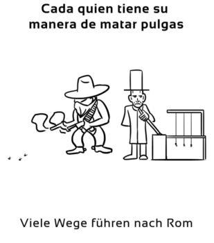 Cada-quien-tiene-su-manera-Spanische-Redewendungen-Sprichwörter