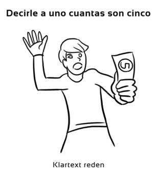 Decirle-a-uno-cuantas-son-Spanische-Redewendungen-Sprichwörter