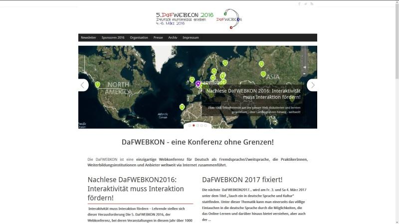 Deutsch-als-Fremdsprache-Webkonferenz
