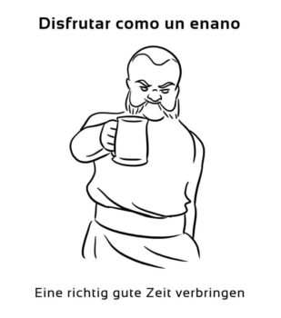 Disfrutar-como-un-enano-Spanische-Redewendungen-Sprichwörter