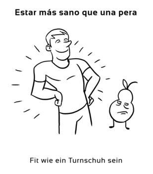 Estar-mas-sano-que-una-Spanische-Redewendungen-Sprichwörter