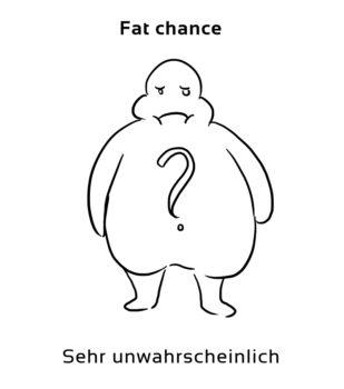 Fat-chance-englische-sprichwörter-redewendungen