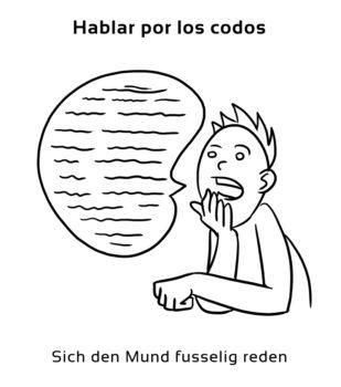 Hablar-por-los-codos-Spanische-Redewendungen-Sprichwörter