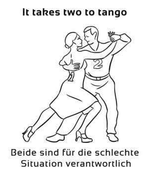 It-takes-two-to-tango-englische-sprichwörter-redewendung