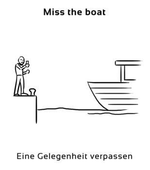 Miss-the-boat-englische-sprichwörter-redewendung