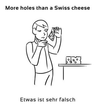 More-holes-than-a-Swiss-cheese-englische-sprichwörter-redewendung