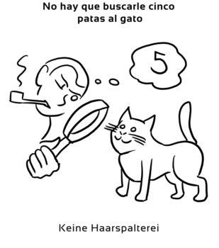 No-hay-que-buscarle-cinco-Spanische-Redewendungen-Sprichwörter
