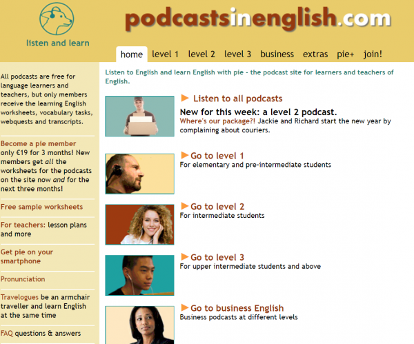 Podcasts-in-English-Englisch-lernen