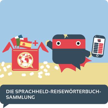 Reisewoerterbuch Sammlung Uebersicht