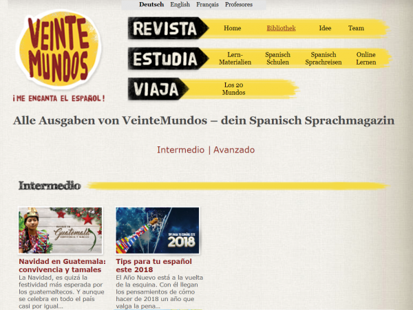 Veinte-Mundos-Podcast-Spanisch-Audios