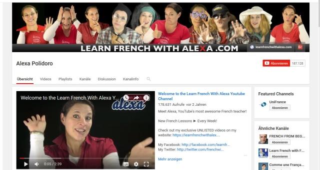 alexa-polidoro-youtube-kanal-zum-französisch-lernen