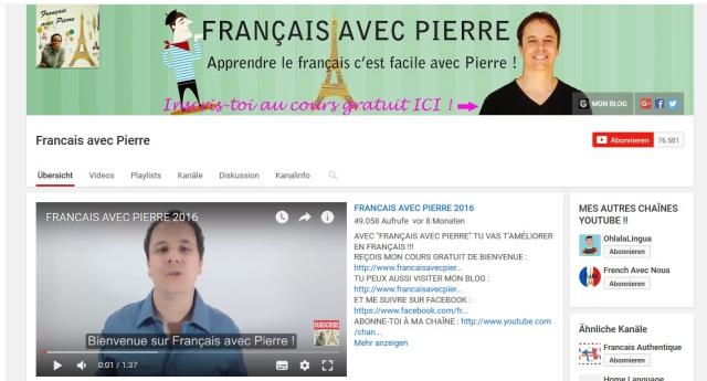 francais-avec-pierre-youtube-kanal-zum-französisch-lernen