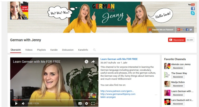 german-with-jenny-youtube-kanal-zum-deutsch-lernen