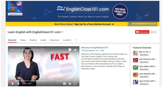 learn-english-with-englishclass101-youtube-kanal-zum-englisch-lernen