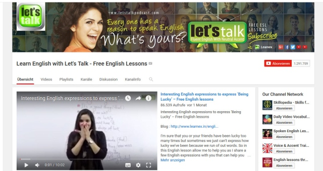 learn-english-with-letstalk-youtube-kanal-zum-englisch-lernen