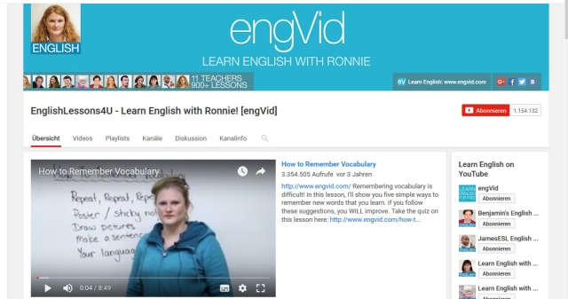 learn-english-with-ronnie-youtube-kanal-zum-englisch-lernen