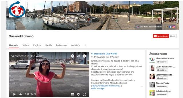 oneworlditaliano-youtube-kanal-zum-italienisch-lernen