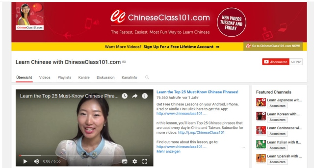 learn-chinese-with-chineseclass101-youtube-kanal-zum-chinesisch-lernen