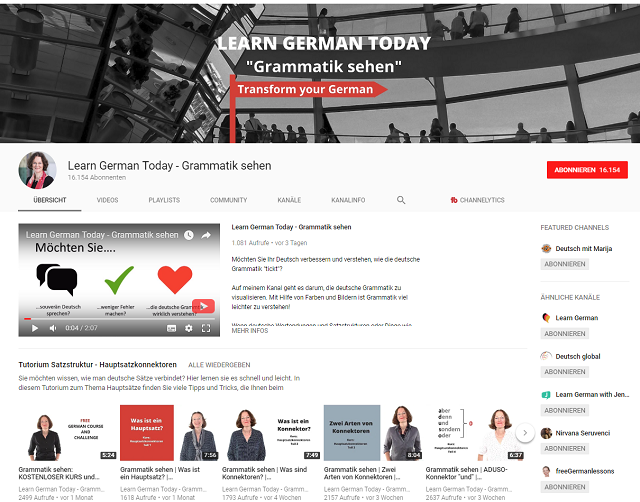 learn-german-today-youtube-deutsch-lernen