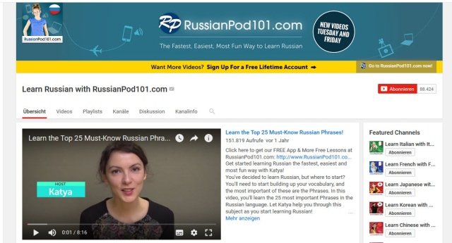 learn-russian-with-russianpod101-youtube-kanal-zum-russisch-lernen
