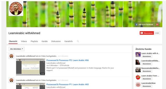 learnarabic-withahmed-youtube-kanal-zum-Arabisch-lernen