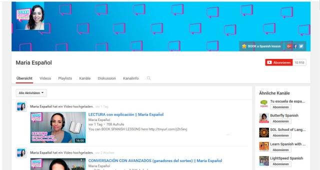 maria-espanolbutterfly-spanish-youtube-kanal-zum-spanisch-lernen