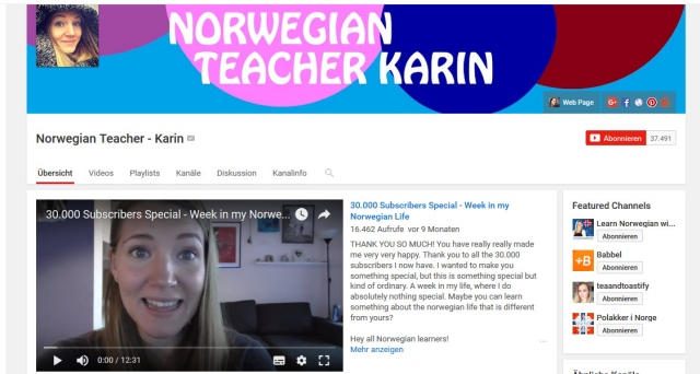 norwegian-teacher-karin-youtube-kanal-zum-norwegisch-lernen