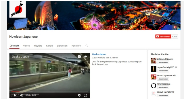nowlearnjapanese-youtube-kanal-zum-Japanisch-lernen
