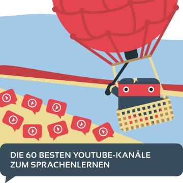 YouTube Kanaele Sprachenlernen Uebersicht