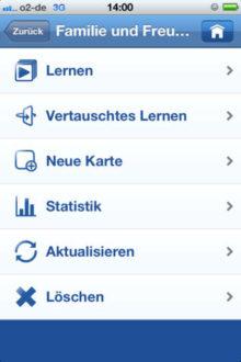 Goethe Vokabeltrainer App
