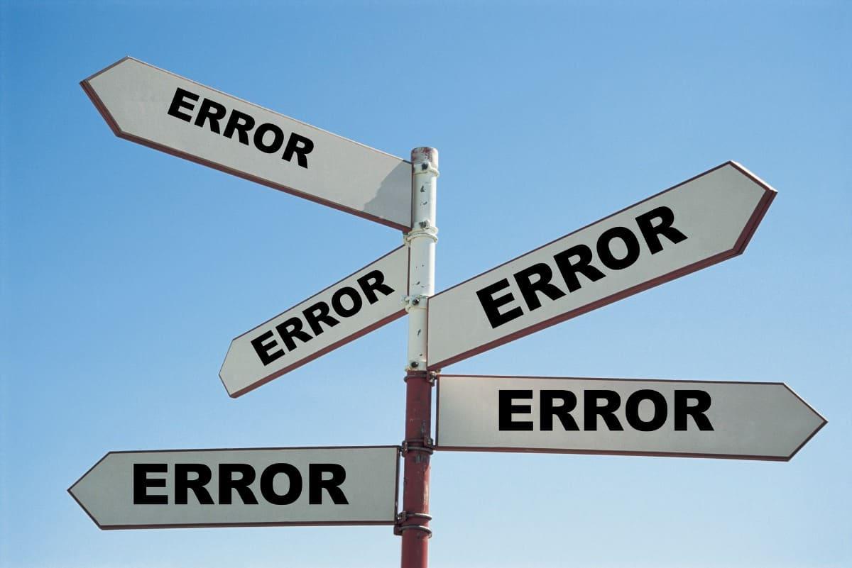 Fehler machen beim Sprachenlernen